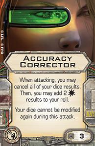 Accuracy-corrector