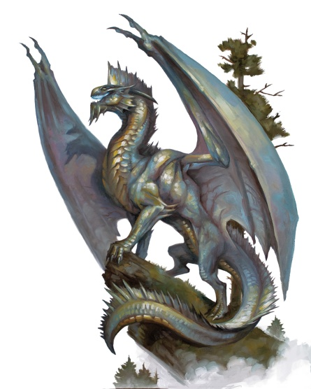 Image result for metallic dragons 5e